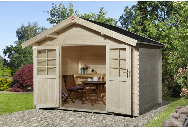 weka gartenhaus 209 gr 3 vd 50 cm dt ebay. Black Bedroom Furniture Sets. Home Design Ideas