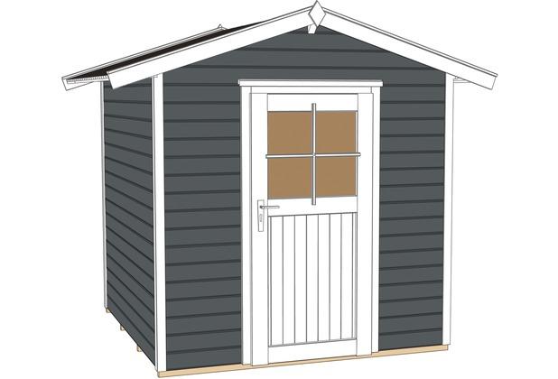 weka gartenhaus 223 gr 1 anthrazit 21 mm et ebay. Black Bedroom Furniture Sets. Home Design Ideas