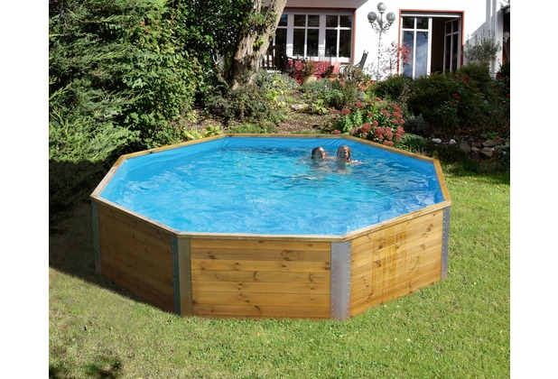 Weka swimmingpool togo 3 inkl leiter filter ebay - Pool aufstellbar ...