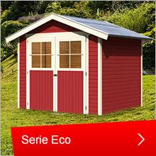 Karibu Gartenhäuser, Serie Eco