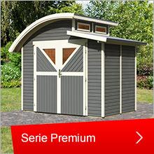 Karibu Gartenhäuser, Serie Premium