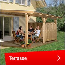 Terrassenüberdachung von Karibu