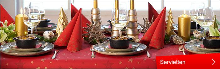 Duni , Haushalt , Tischdekoration , Gedeckter Tisch und Deko , Servietten , Servietten und Zubehör