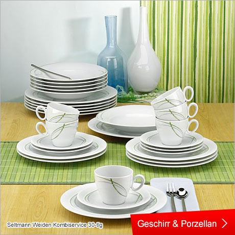 Haushalt , Geschirr und Porzellan , Gedeckter Tisch und Deko