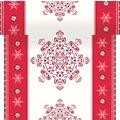 Duni Dunicel-Tischläufer 3 in 1, alle 40 cm perforiert, Motiv Winter Memories, 40 cm x 4,8 m