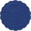 Duni Untersetzer 8lagig Tissue Uni dunkelblau, ø 7,5 cm, 250 Stück
