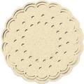 Duni Untersetzer 8lagig Tissue Uni champagne, ø 7,5 cm, 250 Stück