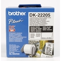 Brother DK-22205 Endlosetiketten (Papier, weiß, 62 mm)
