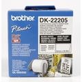 Brother DK-22205 Endlosetiketten (Papier, weiß, 62 mm)