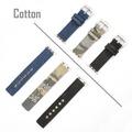 4smarts Cotton Armband für Apple Watch Series 4 (40mm) & Series 3/2/1 (38mm) schwarz