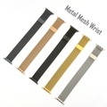 4smarts Metal Mesh Armband für Apple Watch Series 4 (40mm) & 3/2/1 (38mm) schwarz