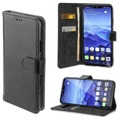 4smarts Premium Flip-Tasche URBAN für Huawei Mate 20 lite all-black