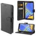 4smarts Premium Flip-Tasche URBAN für Samsung Galaxy A7 (2018) all-black