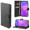 4smarts Premium Flip-Tasche URBAN für  Samsung Galaxy S10 all-black