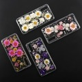 4smarts Soft Cover Glamour Bouquet für Huawei P20 pink/gold