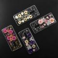 4smarts Soft Cover Glamour Bouquet für Samsung Galaxy S9+ violett/pink/silber