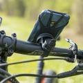 4smarts Universal-Sportarmband ATHLETE PRO für das Handgelenk SET mit FAHRRADHALTER schwarz
