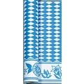 Duni Tischdeckenrolle aus Dunicel Motiv Bayernraute, 1,2 x 10 m