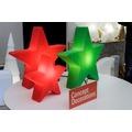 """8 Seasons Shining Star """"Merry Christmas"""" Ø 60 cm grün"""