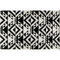 Accessorize Teppich Black Mellow ACC-004-13 schwarz 80x150