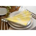 adam Maroccan Shiraz Light 100% Bio-Baumwolle Serviette 30x30 (4er Pack) hellgelb