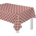 adam Maroccan Shiraz Light 100% Bio-Baumwolle Tischdecke cherryrot 80x80 cm