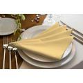 adam Uni Light Collection 100% Bio-Baumwolle Serviette 30x30 (4er Pack) dunkelgelb