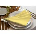 adam Uni Light Collection 100% Bio-Baumwolle Serviette 30x30 (4er Pack) hellgelb