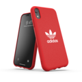 adidas OR Moulded Case Canvas FW19 for iPhone XR scarlet