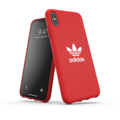 adidas OR Moulded Case Canvas FW19 for iPhone XS Max scarlet