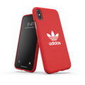 adidas OR Moulded Case Canvas FW19 for iPhone X/Xs scarlet