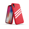 adidas OR Moulded case SUEDE FW18 for iPhone XR scarlet