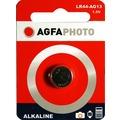 AGFAPHOTO Batterie Alkaline, Knopfzelle, LR44/AG13, 1.5V Retail Blister (1-Pack)