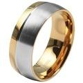 Akzent Herren Partnerring-Ring aus Edelstahl 5080046-70