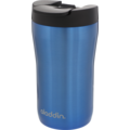 aladdin Isolierbecher Latte MIT GRAVUR (z.B. Namen) 250ml blau aus Edelstahl Thermobecher 100% auslaufsicher