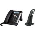 Alcatel Temporis IP370 SIP PoE Bundle, schwarz,