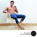 AMMANN Hose 3/4 lang mit Eingriff, Serie Jeans, anthrazit 5