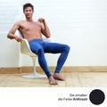 AMMANN Hose lang mit Eingriff, Serie Jeans, anthrazit 5