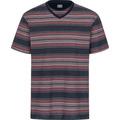 AMMANN Shirt 1/2 Arm, V-Ausschnitt, dunkelblau Gr. S