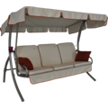 Angerer Comfort Style Hollywoodschaukel Style creme