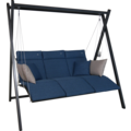 Angerer Relax Hollywoodschaukel blau