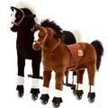 Animal Riding Pferd Maharadscha medium, für Kinder von 4-8 Jahren (15 Kg - 65 Kg) und Pferd Amadeus small, für Kinder von 3-5 Jahren