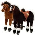 Animal Riding Pferde  Amadeus &Maharadscha small, für Kinder von 3-5 Jahren (10 Kg - 40 Kg)
