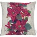 APELT Christmas Elegance Kissen rot/grün 45x45