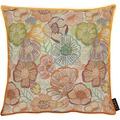 APELT Easy Living Kissen multi/orange/natur 39x39 cm