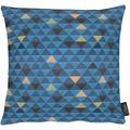 APELT Loft Style Kissen blau 39x39
