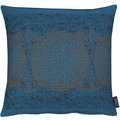 APELT Loft Style Kissen blau/kupfer 45x45