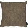 APELT Loft Style Kissen braun 39x39, Linienmuster