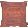 APELT Loft Style Kissen rot 48x48, Wellenmuster
