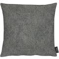 APELT Loft Style Kissen schwarz 39x39, Linienmuster